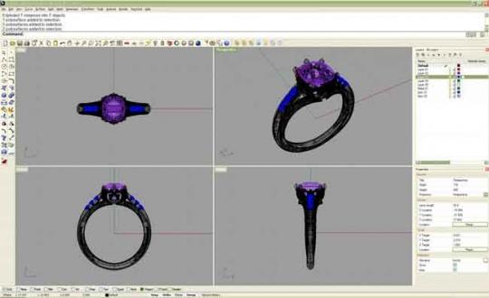 طراحی جواهرآلات با راینو