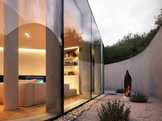 yard-of-a-villa