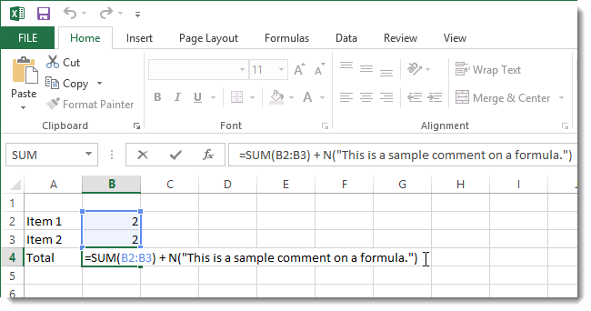 ۰۱_adding_comment_to_formula