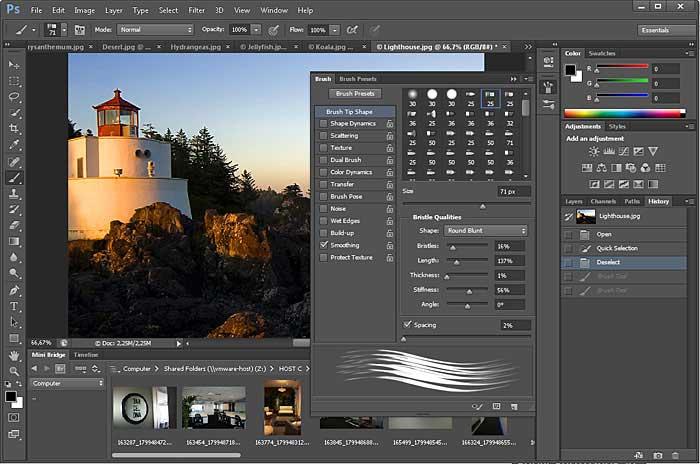 آموزش تصويري شروع به كار و يادگيري نرم افزار فتوشاپ Cs6