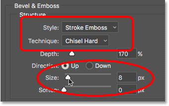bevel-emboss-structure-options