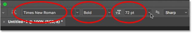 photoshop-font-options