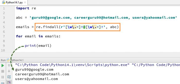 Python Regex Tutorial
