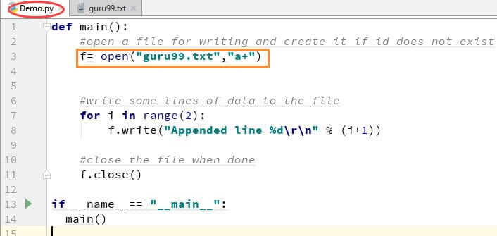 Python File Handling