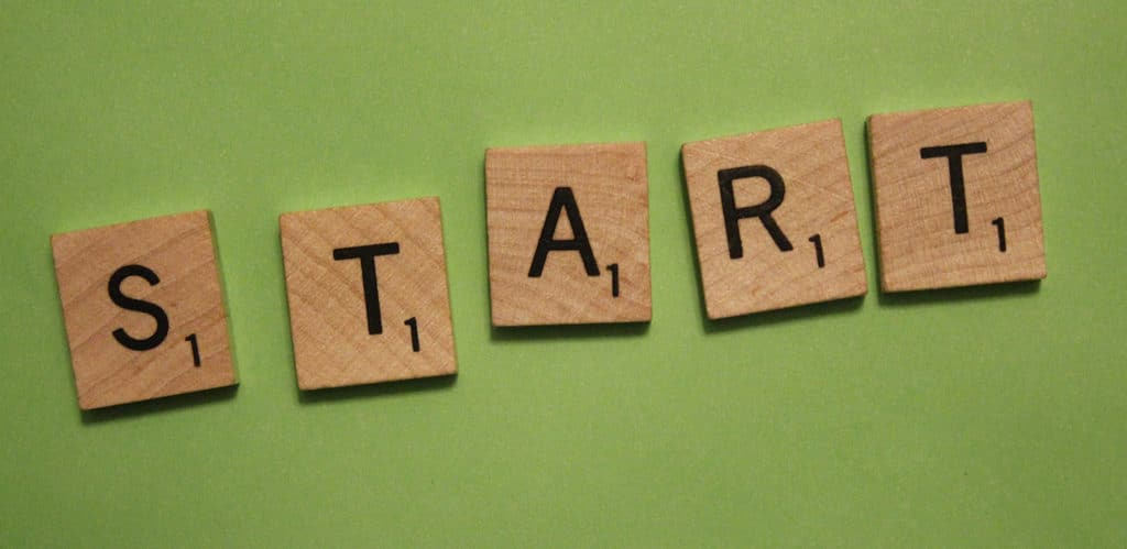 Start text