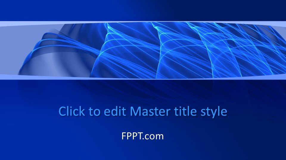 Blue background color design with lines