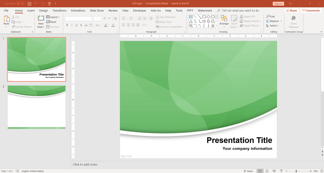 https://www.free-power-point-templates.com/articles/wp-content/uploads/2019/01/free-modern-green-design-powerpoint-template.png