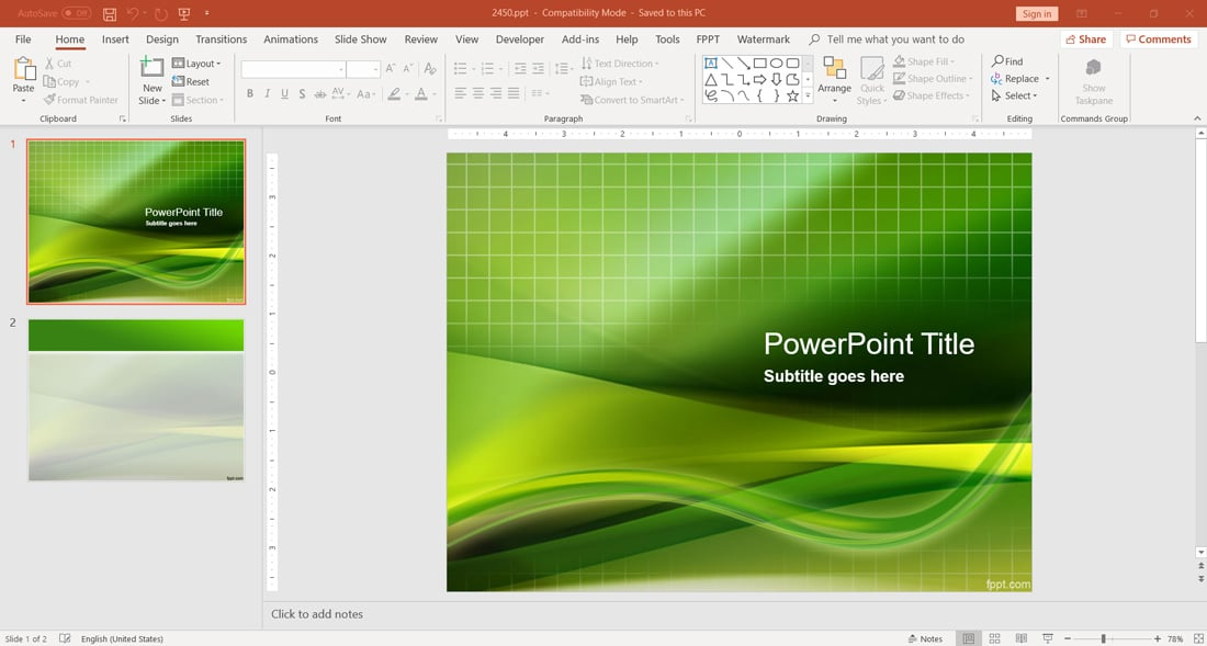 https://www.free-power-point-templates.com/articles/wp-content/uploads/2019/01/free-green-grid-powerpoint-template.jpg