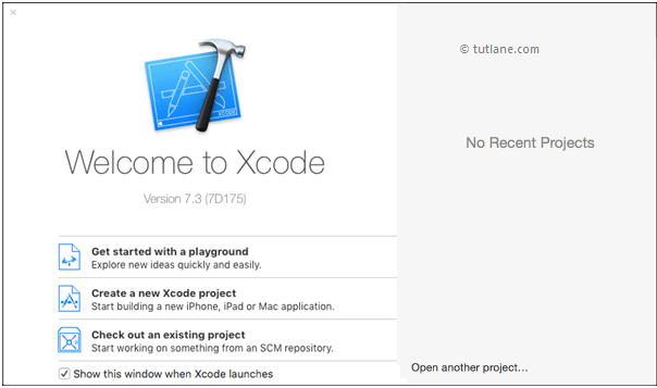Xcode application to create ios project
