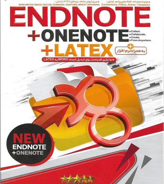 آموزش تصویری ENDNOTE, ONENOTE, LATEX به همراه نرم افزار